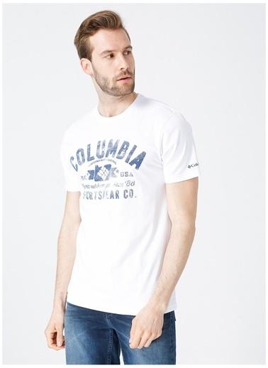 Columbia Columbia T-Shirt Beyaz
